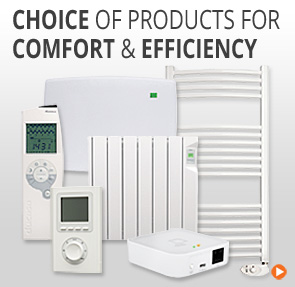 Choice of Electric Heating Products for comfort and efficiency