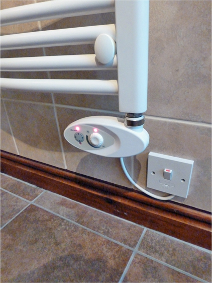 Ducasa Colorado Mcr Programmable Electric Towel Rail