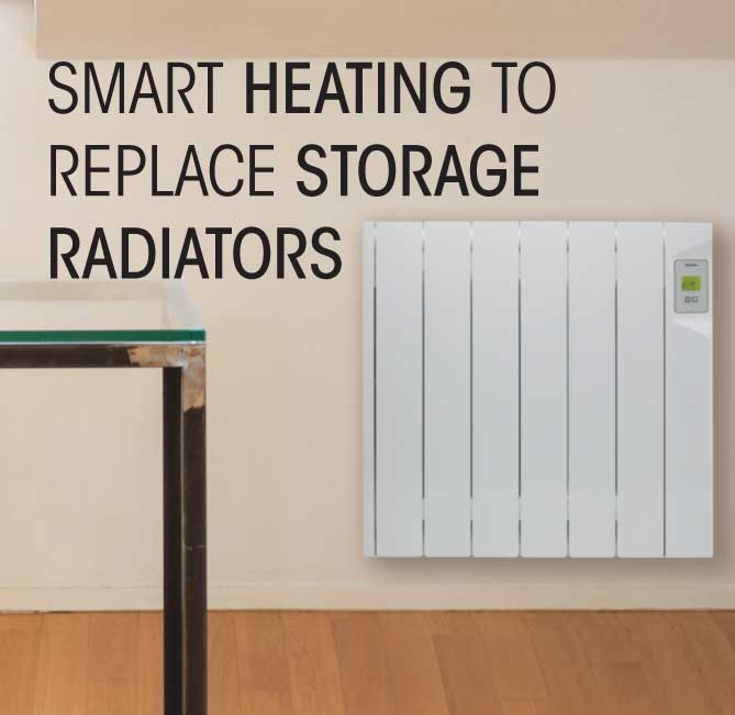 Smart Heating to replace Storage Heaters