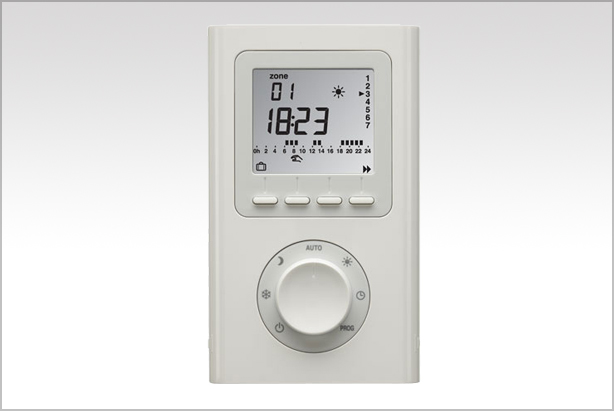 4 zone electric heating programmer
