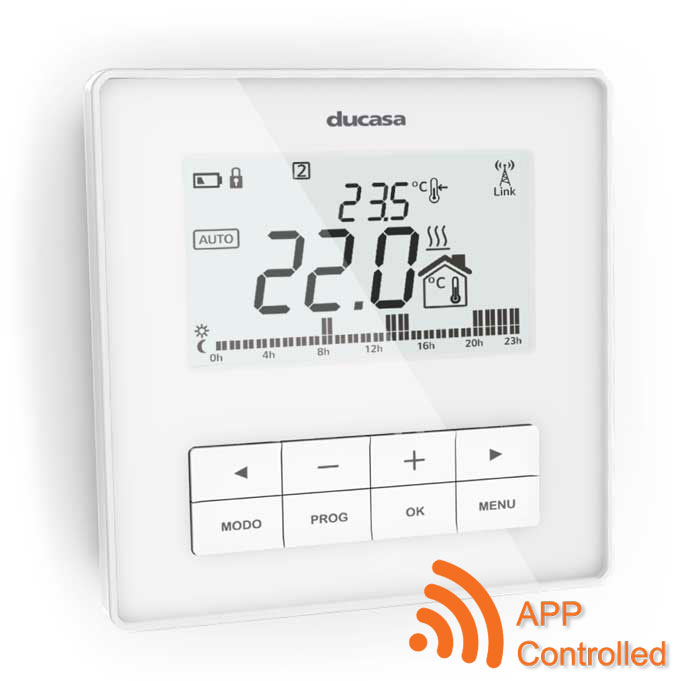 Smart Command APP Controlled Programmable Room Thermostat